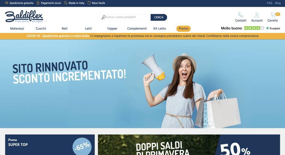 [e-commerce e COVID-19] - Home Baldiflex